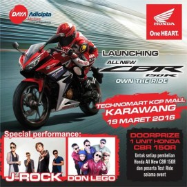 All New CBR 150 R Karawang2016