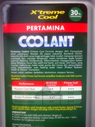 air radiator Pertamina