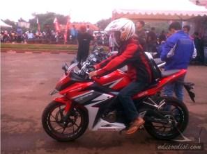 tes ride All New CBR 150 R