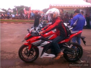 tes ride All New CBR 150 R
