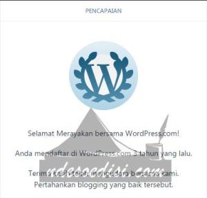 3 tahun Ndesoedisi bersama WordPress
