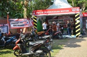 posko Mudik Honda Jabar 2016
