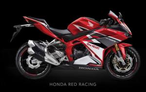 All New Honda CBR250RR Red Racing