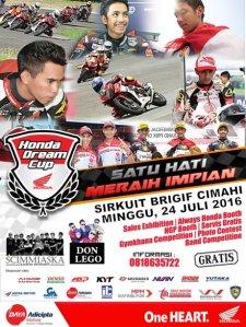 Honda Dream Cup Jawa Barat
