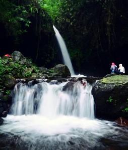 Curug di Wisata Alam Capolaga