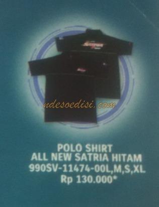 Merchandise Satria Fu Injeksi