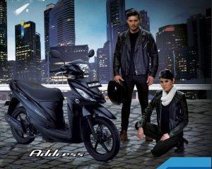 Suzuki Address Black Predator 2016