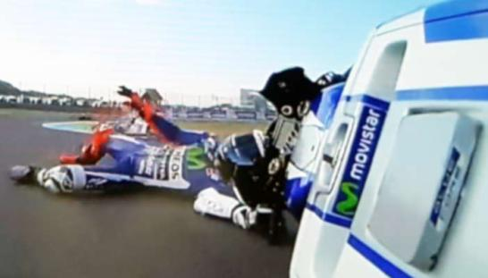lorenzo-crash-di-sirkuit-motegi