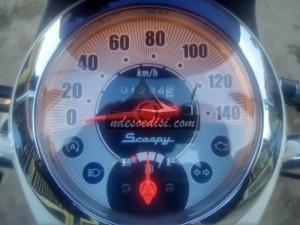 odometer cantik Honda honda Scoopy eSP