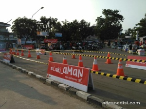 acara Honda di Lapangan Karang Pawitan Karawang