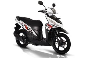 Suzuki Address putih 2017