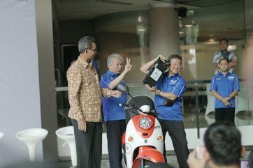 E-Vino motor listrik Yamaha