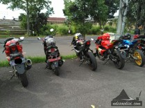 Si merah Address diantara GSX-R 150
