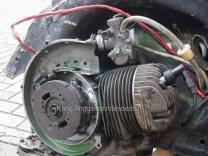 Vespa dengan karburator RX King