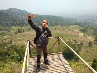 Selfie dulu di Panyandaan