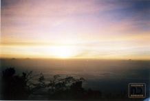 Sunrise di Puncak Slamet