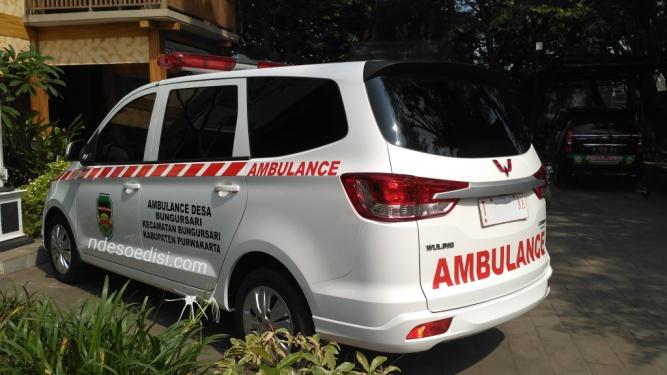 Ambulance desa Bungursari Purwakarta