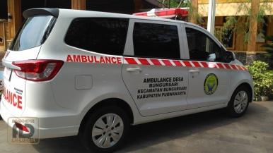 Ambulance Wuling desa Bungursari Purwakarta